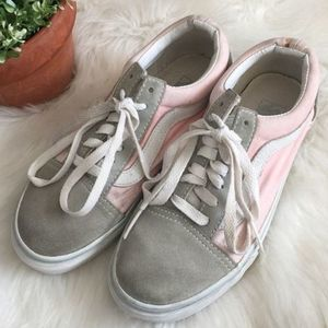 VANS | Old Skool Blush Pink Gray Dawn Sneaker 6.5